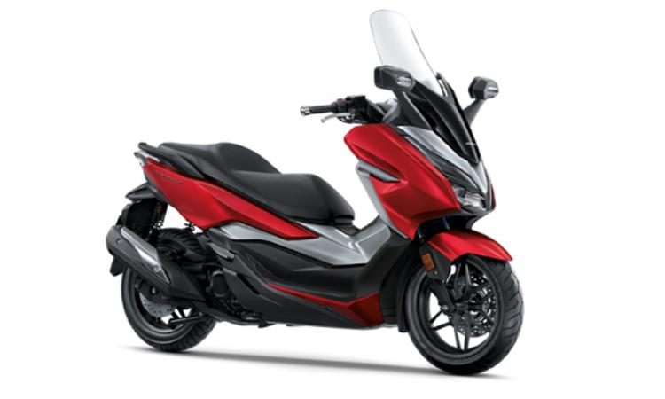 Honda Forza 300 สี แดง-เทา