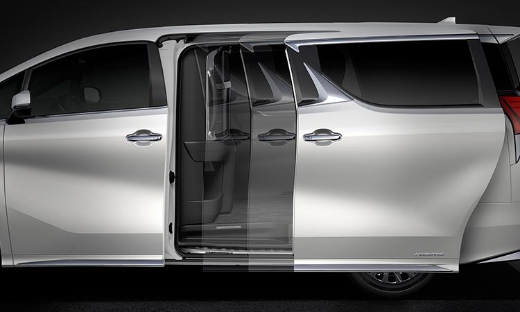 ประตูอัตโนมัติ Lexus LM 300h