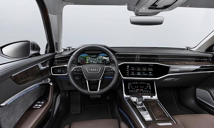 ภายใน Audi A6 Sedan