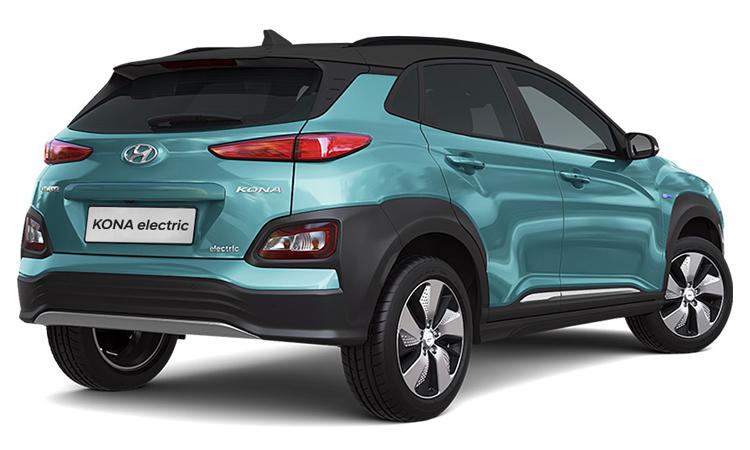 ีดีไซน์ด้านหลัง Hyundai KONA Electric E