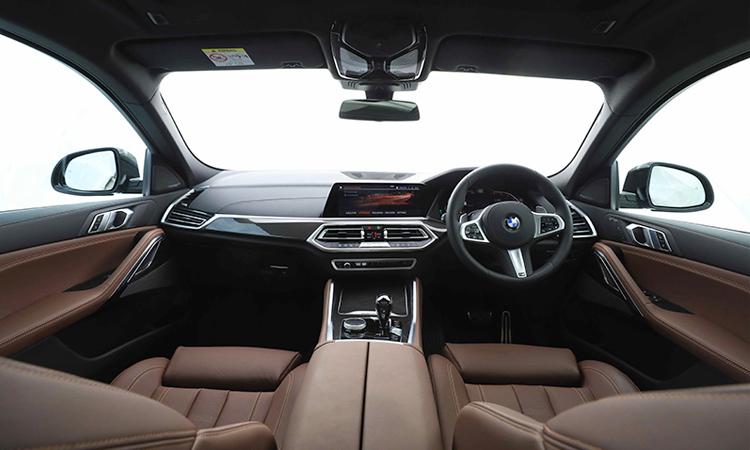 ภายใน BMW X6 xDrive30d M Sport