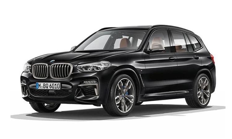 ราคา ตารางผ่อนดาวน์ BMW X3