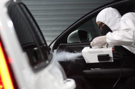 8 แหล่งพ่นยาฆ่าเชื้อฟรี จัดการ COVID-19 ในรถ