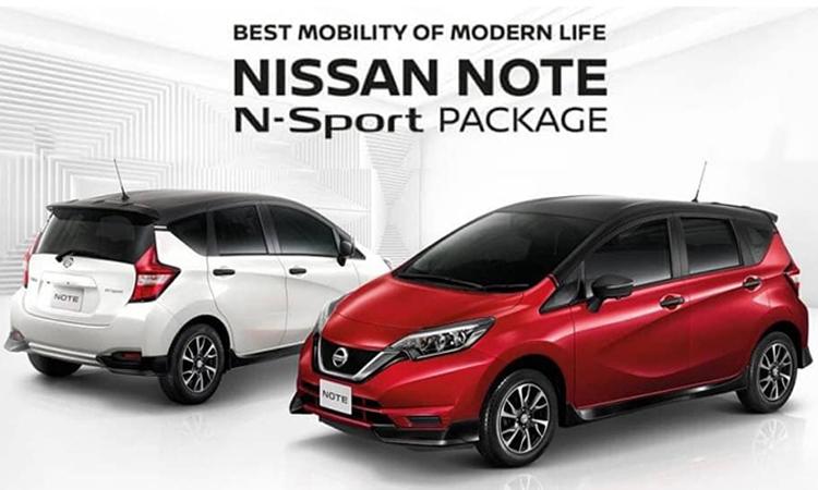 Nissan NOTE N-Sport Package