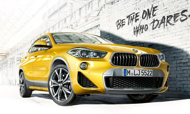 ราคา ตารางผ่อนดาวน์ BMW X2
