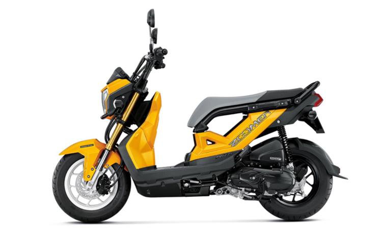 Honda Zoomer-X สีเหลือง-ดำ