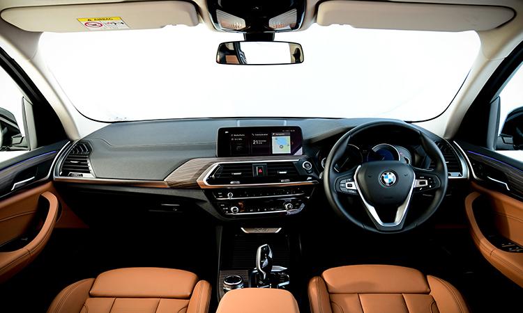 ภายใน BMW X3
