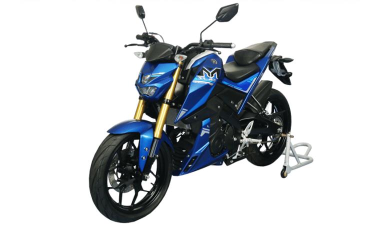 Yamaha M-SLAZ 150 สีน้ำเงิน