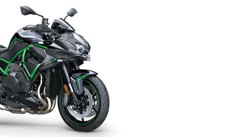 Kawasaki Z H2สีเขียวดำ