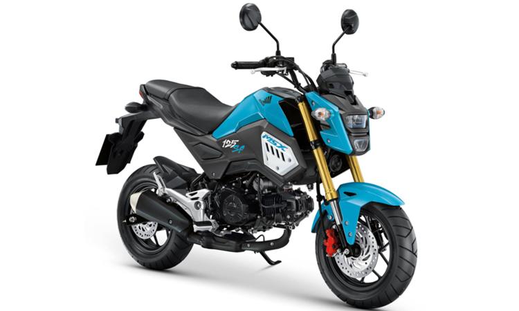 Honda MSX125SF สีน้ำเงิน-ดำ