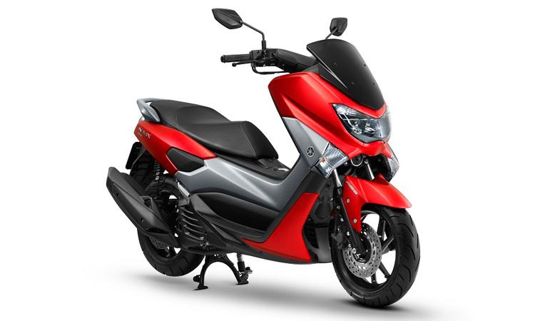 สีตัวถัง Yamaha Nmax 155 แดง-เทา