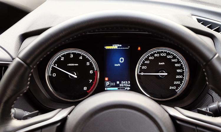 เรือนไมล์ Subaru Forester GT Edition