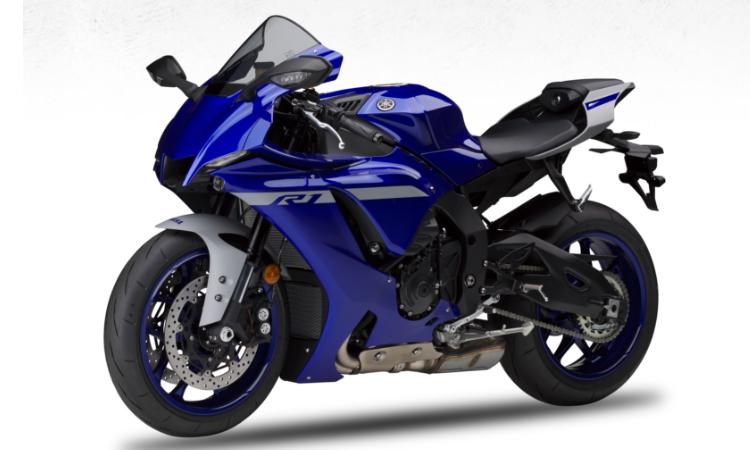 Yamaha YZF-R1 สีน้ำเงิน