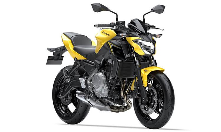 Kawasaki Z650 สีเหลืองดำ
