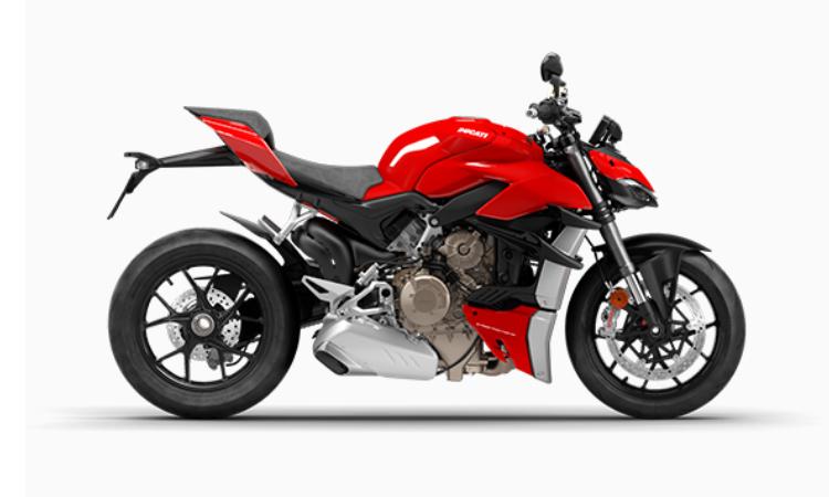 สีตัวถัง Ducati Streetfighter V4