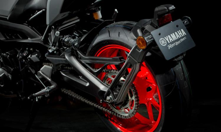 ล้อหลัง Yamaha MT-09