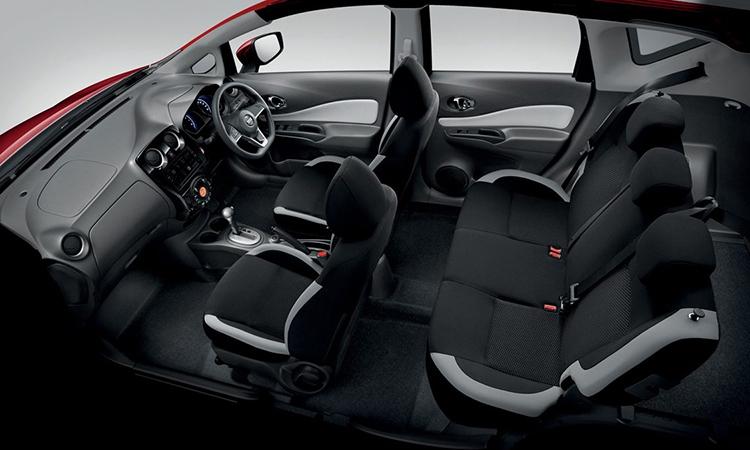 ดีไซน์ภายใน Nissan NOTE N-Sport Package