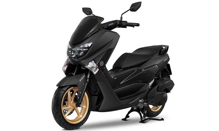 สีตัวถัง Yamaha Nmax 155 ดำ