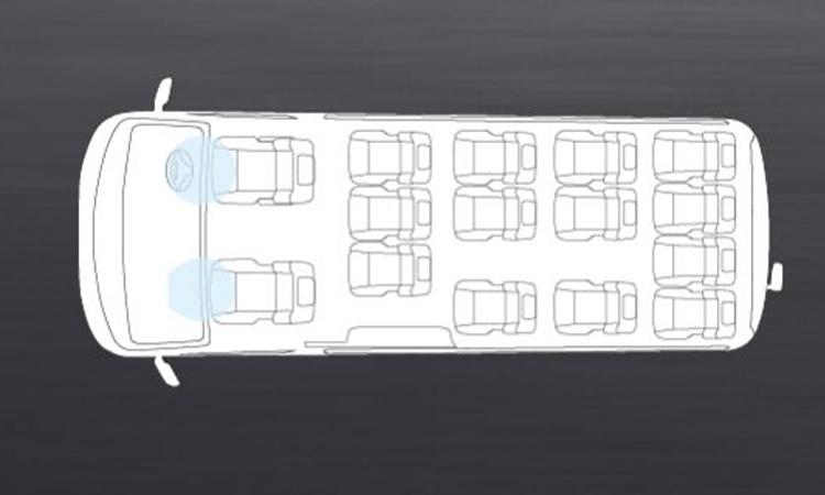 ถุงลมนิรภัย Nissan Urvan