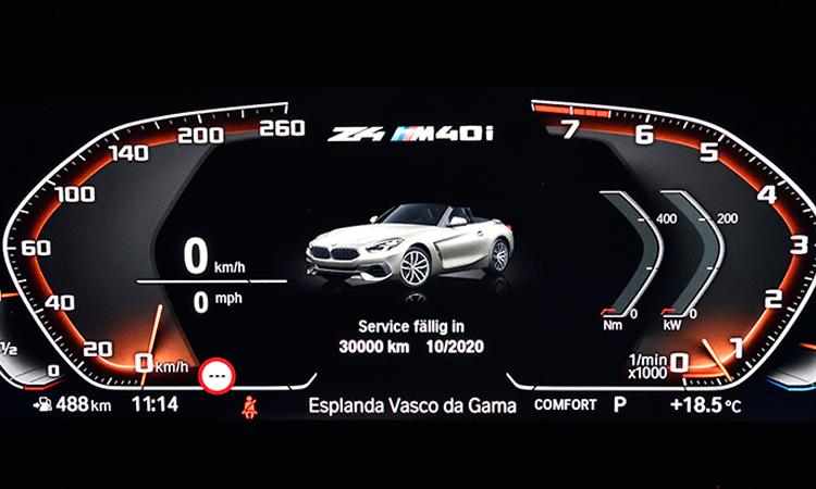 เรือนไมล์ BMW Z4