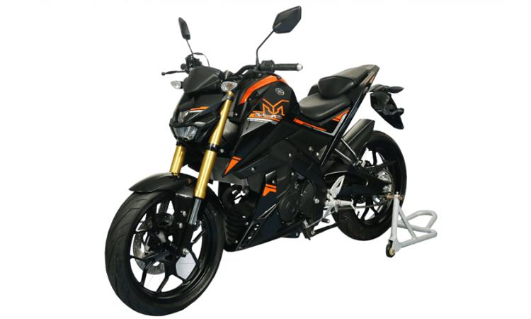 Yamaha M-SLAZ 150 สีส้มดำ