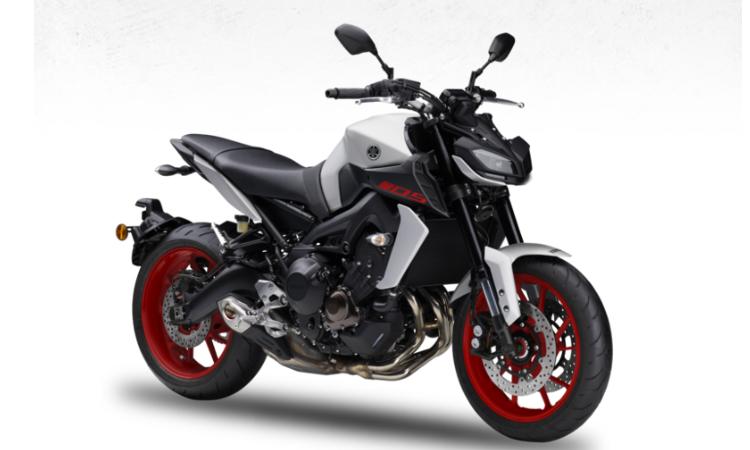 สีตัวถัง Yamaha MT-09 ขาว