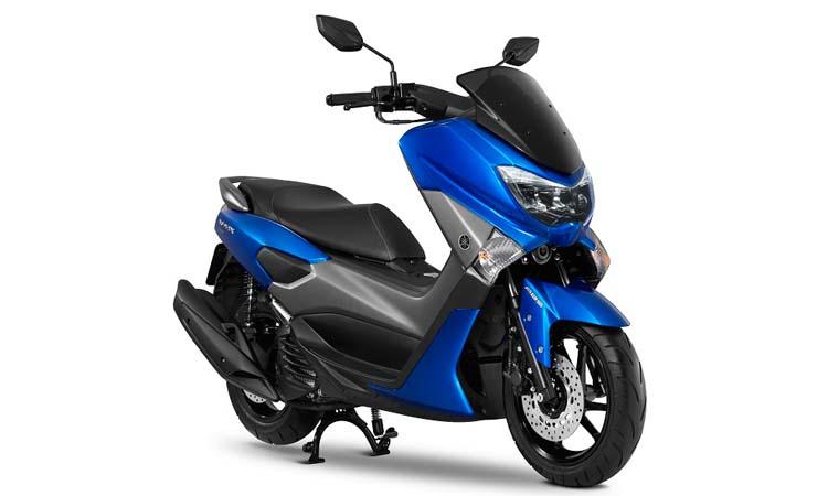 สีตัวถัง Yamaha Nmax 155 น้ำเงิน-เทา