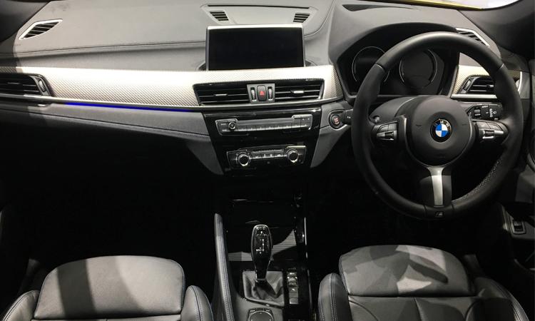 ภายใน BMW X2