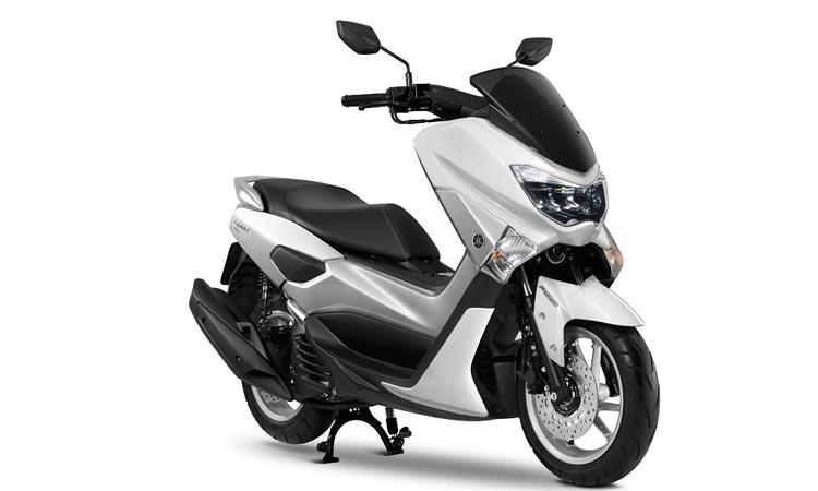 สีตัวถัง Yamaha Nmax 155 ขาว