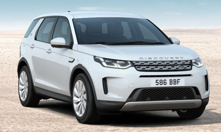 Land Rover DISCOVERY Sport สีขาว Fuji White