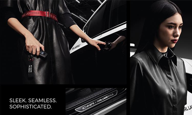 ระบบความปลอดภัย Toyota C-HR KARL LAGERFELD Hybrid High