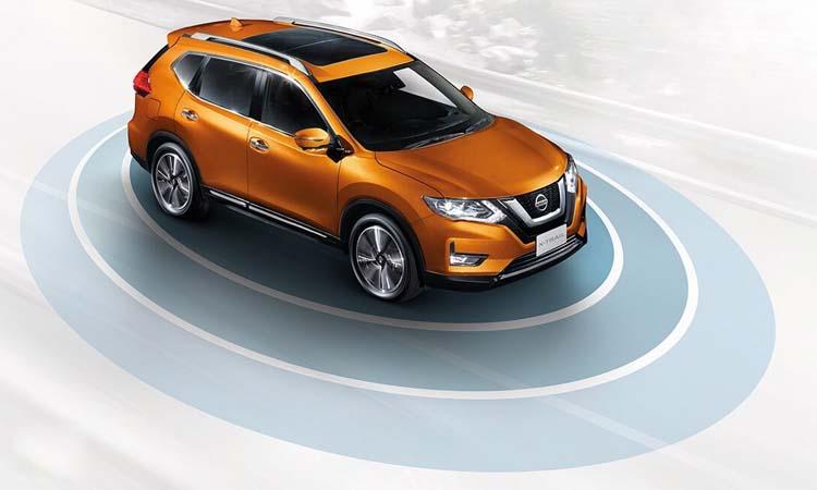 ระบบความปลอดภัย Nissan X-Trail