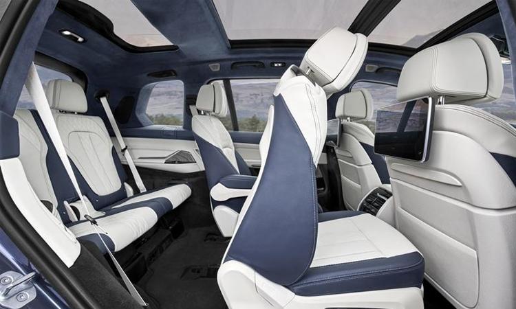 เบาะแถว3 BMW X7 M50d