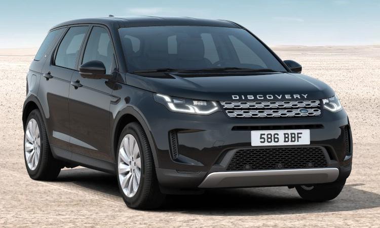 Land Rover DISCOVERY Sport สีดำ Santorini Black