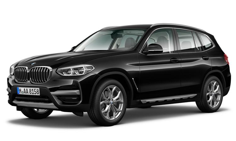 BMW X3 สีดำ Black Sapphire Metallic