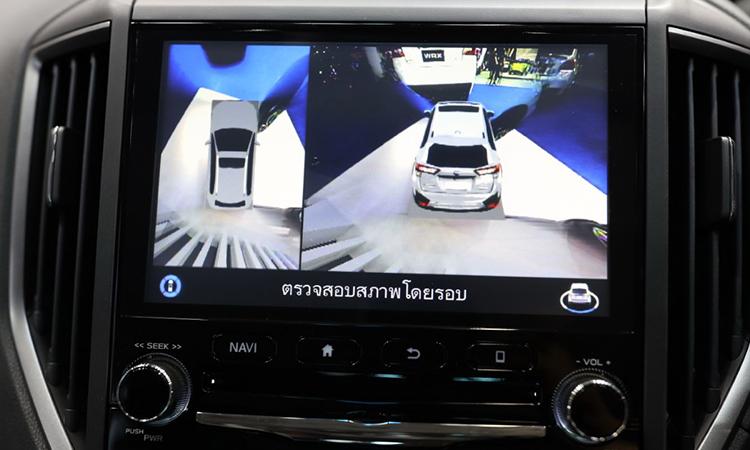 กล้องรอบคัน Subaru Forester GT Edition