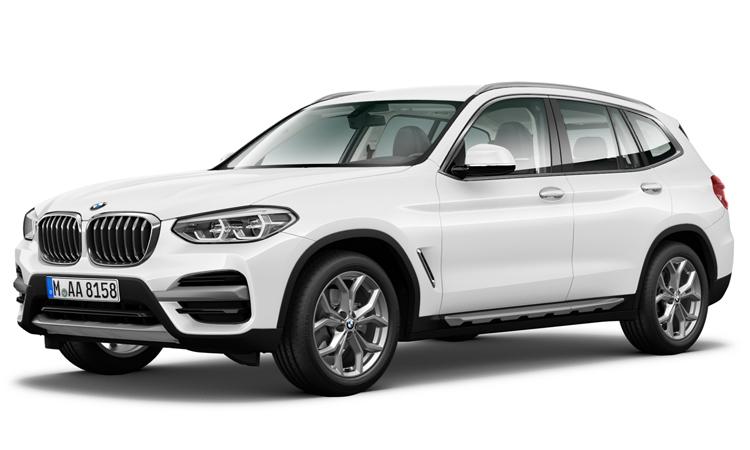 BMW X3 สีขาว Alpine White