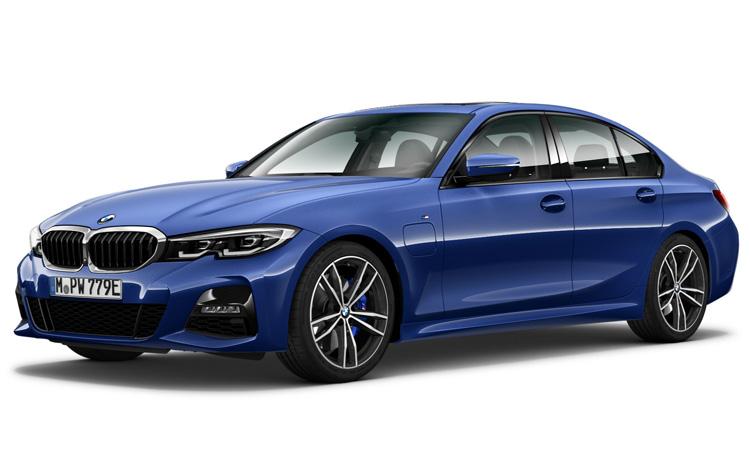 BMW 330e M Sport (Plug-in Hybrid) สีน้ำเงิน Portimao Blue