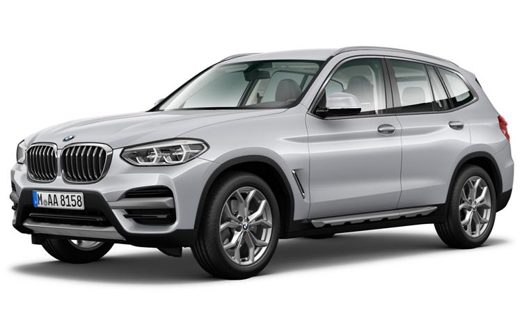 BMW X3 สีเงิน Glacier Silver Metallic