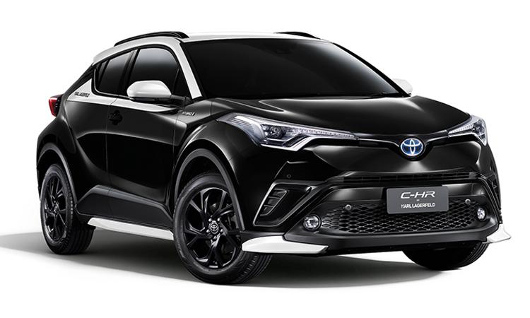 ราคา ตารางผ่อนดาวน์ Toyota C-HR KARL LAGERFELD Hybrid High