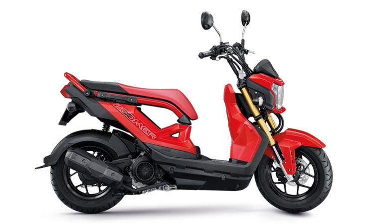 มิติตัวถ Honda Zoomer-X