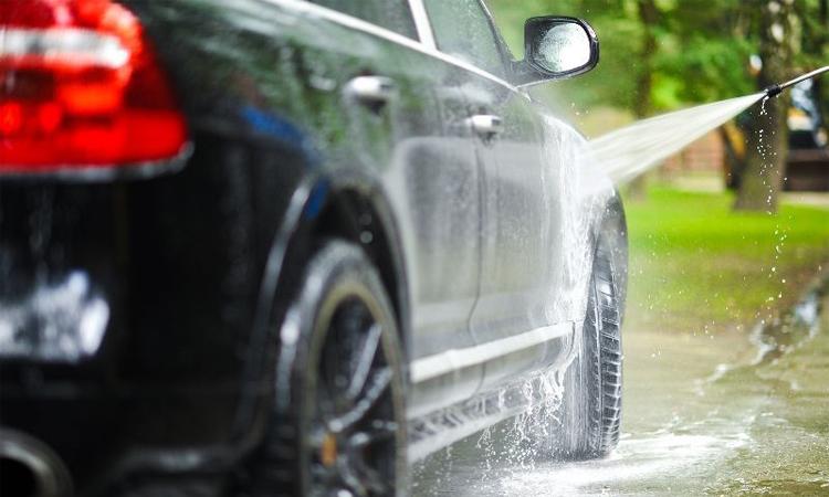 การล้างรถ