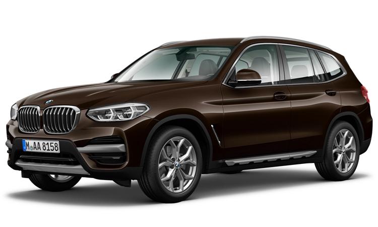 BMW X3 สีน้ำตาล Terra Brown Metallic