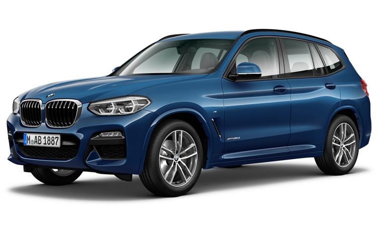 BMW X3 สีน้ำเงิน Phytonic Blue