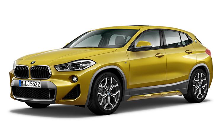 BMW X2 สี Galvanic Gold