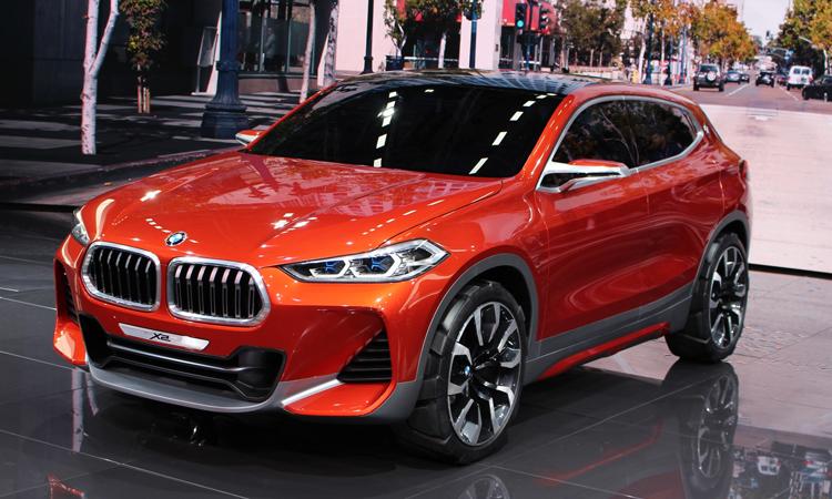 BMW X2 สี Sunset Orange