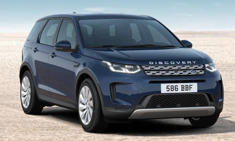 Land Rover DISCOVERY Sport สีน้ำเงิน Portofino Blue