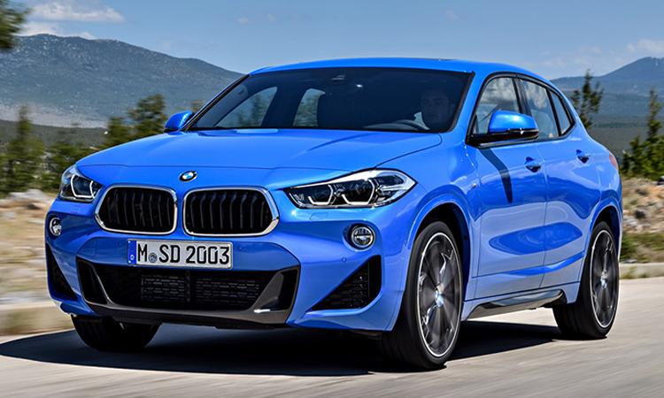 BMW X2 สี Misano Blue