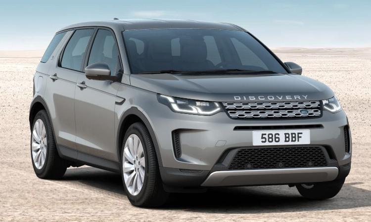 Land Rover DISCOVERY Sport สีเทาเข้ม Carpathian Grey
