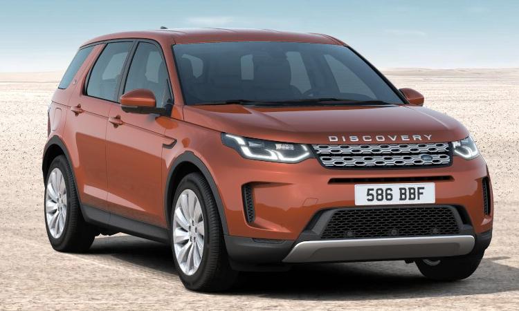 Land Rover DISCOVERY Sport สีส้ม Namib Orange